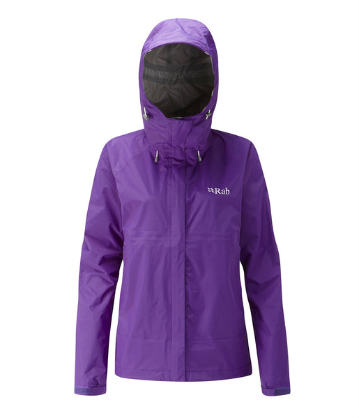 WOMEN'S DOWNPOUR JACKET - NIGHTSHADE