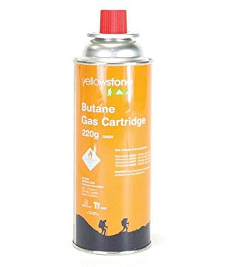 YELLOWSTONE BUTANE GAS CARTRIDGE
