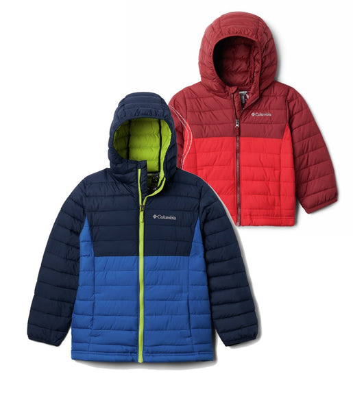 BOY'S POWDER LITE HOODED JACKET 2.0 (AGES 4-10)