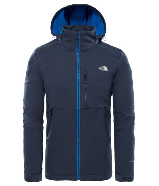 MEN'S KABRU SOFTSHELL HOODED JACKET - URBAN NAVY
