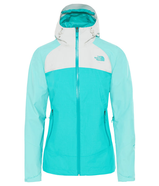 WOMEN'S STRATOS JACKET - ION BLUE/MOUNTAIN BLUE