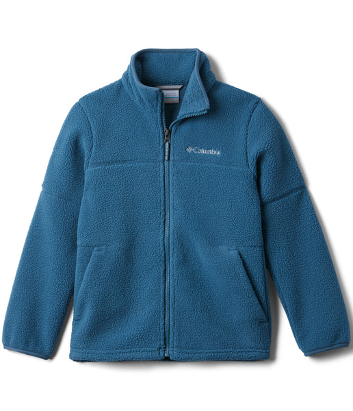 BOY'S RUGGED RIDGE SHERPA FULL ZIP (AGES 4-10) - BLUE HERON