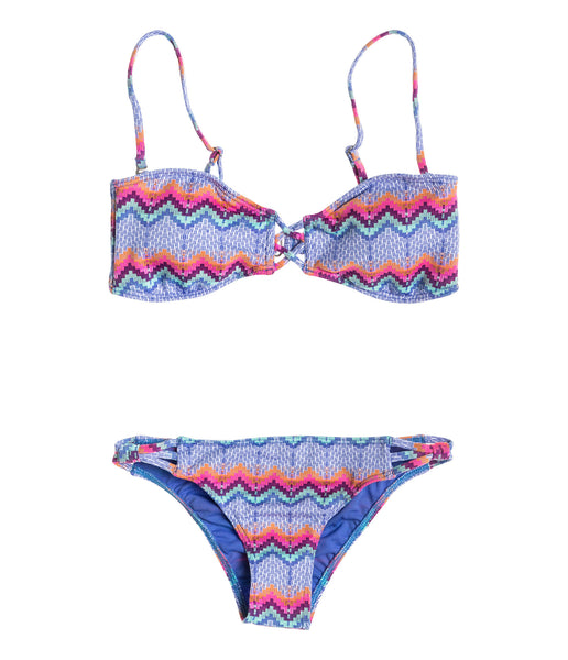 BANDEAU/STRAPPY SURFER SET