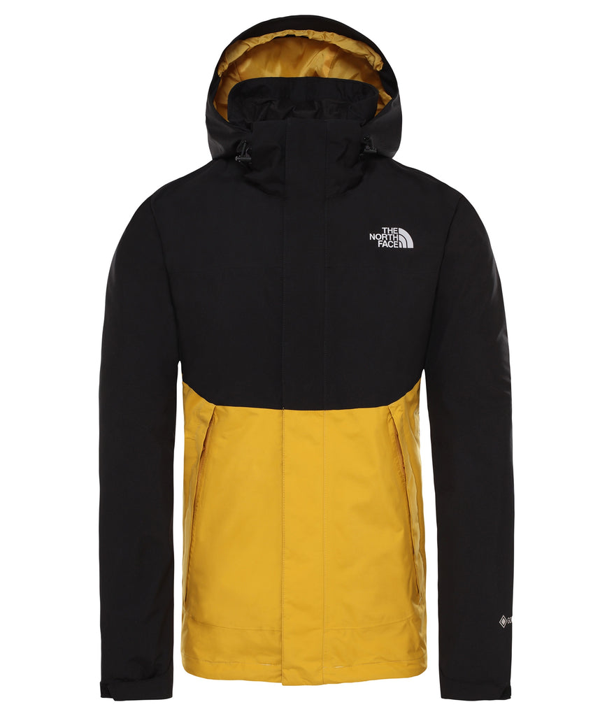 MEN'S MOUNTAIN LIGHT II GORE-TEX SHELL JACKET - TNF BLACK/GOLDEN SPICE