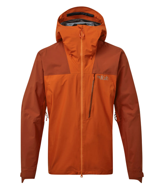 LADAKH GORETEX JACKET - RED CLAY/FIRECRACKER