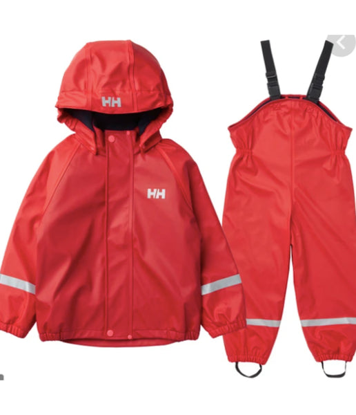 KID'S BERGEN FLEECE PU RAINSET