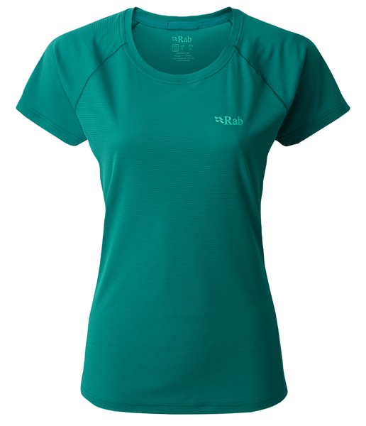 WOMEN'S PULSE SS TEE - ATLANTIS