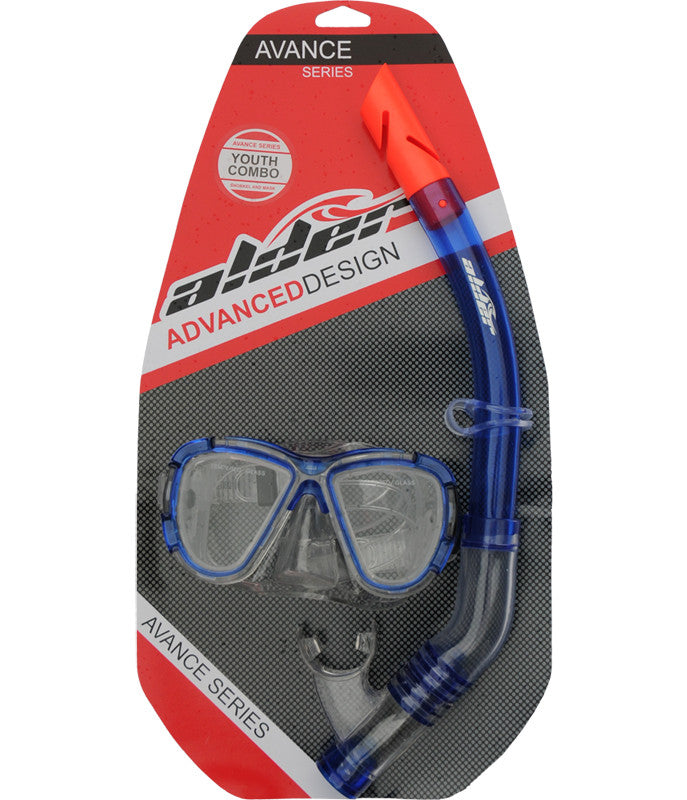 AVANCE YOUTH COMBO SNORKEL AND MASK
