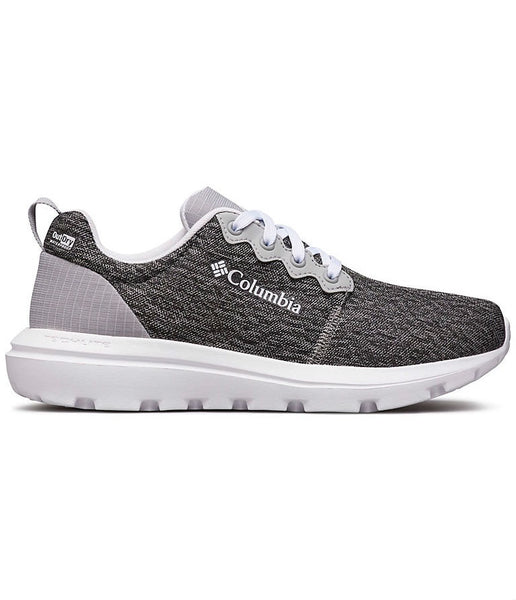 WOMEN'S BACKPEDAL OUTDRY SHOE - STEEL GREY