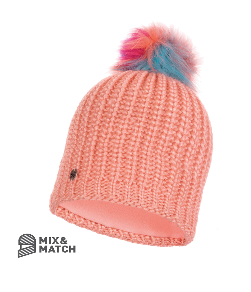 DANIA PEACH [KNITTED HAT]