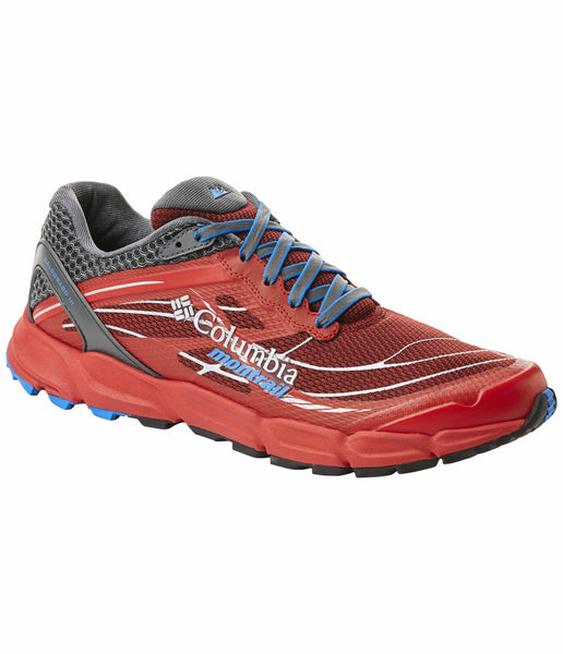 MEN'S CALDORADO III TRAIL RUNNING SHOE - RED/BLUE