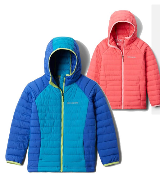 GIRL'S POWDER LITE HOODED JACKET 2.0 (AGES 10-16)