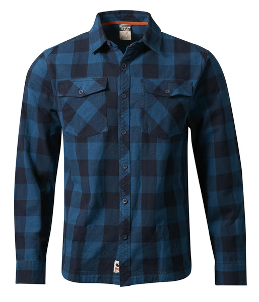 BOUNDARY SHIRT - INDIGO DENIM