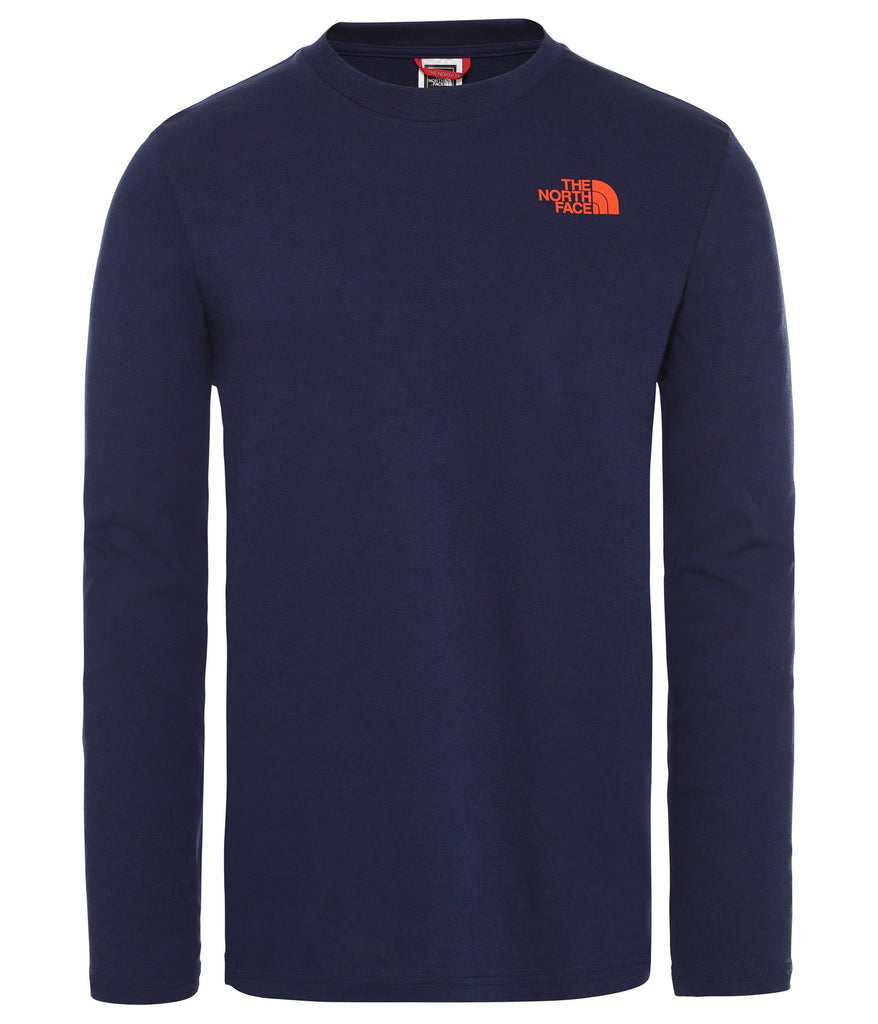 MEN'S L/S EASY TEE - MONTAGUE BLUE