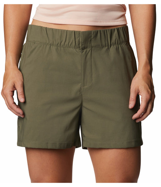 WOMEN'S FIRWOOD CAMP II SHORT - STONE GREEN
