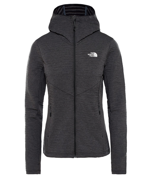 WOMEN'S IMPENDOR LIGHT MIDLAYER HOODIE - BLACK