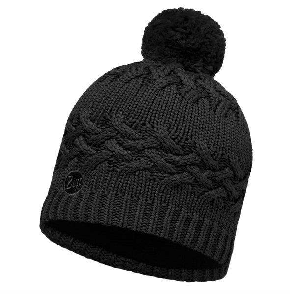 SAVVA BLACK HAT [KNITTED HAT]