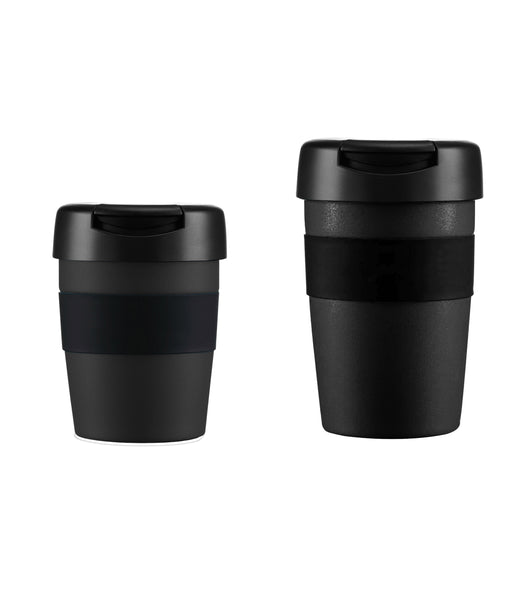 COFFEE MUG INSULATED BLACK