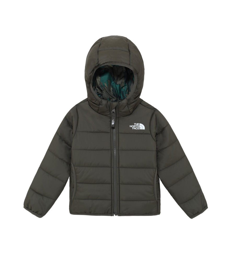 TODDLER REVERSIBLE PERRITO JACKET - NEW TAUPE GREEN