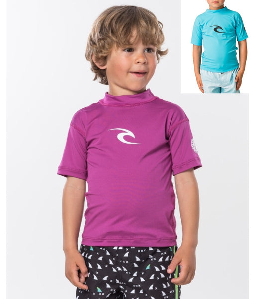 YOUNG BOYS GROM CORPO SHORT SLEEVE  UV TEE RASHVEST
