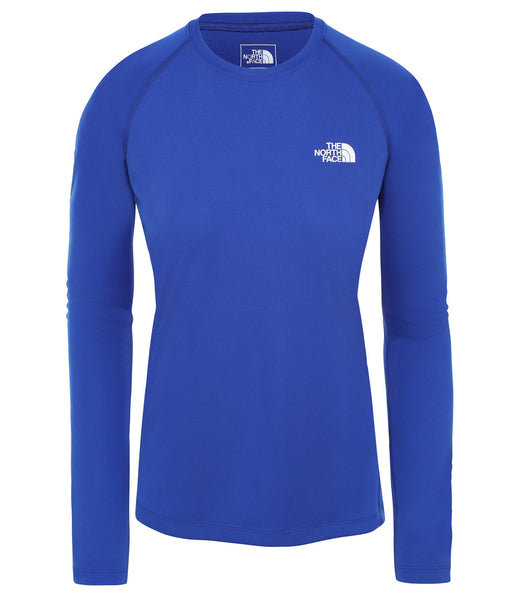 WOMEN'S FLEX L/S - TNF BLUE
