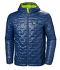 LIFALOFT HOODED INSULATOR JACKET - NORTH SEA BLUE