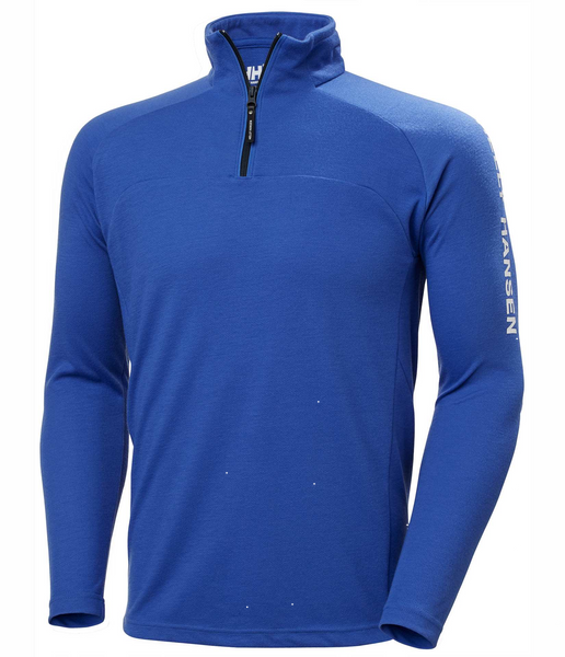 HP 1/2 ZIP PULLOVER - ROYAL BLUE