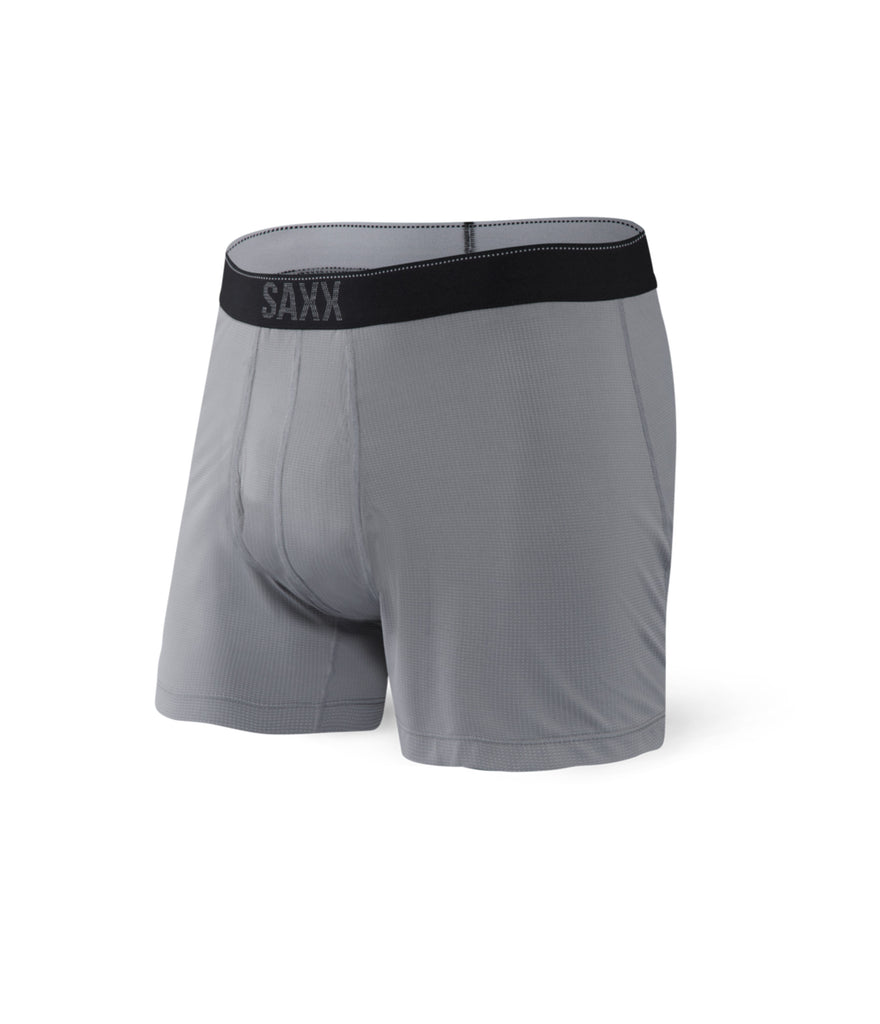 QUEST BOXER BRIEF FLY - DARK CHARCOAL II