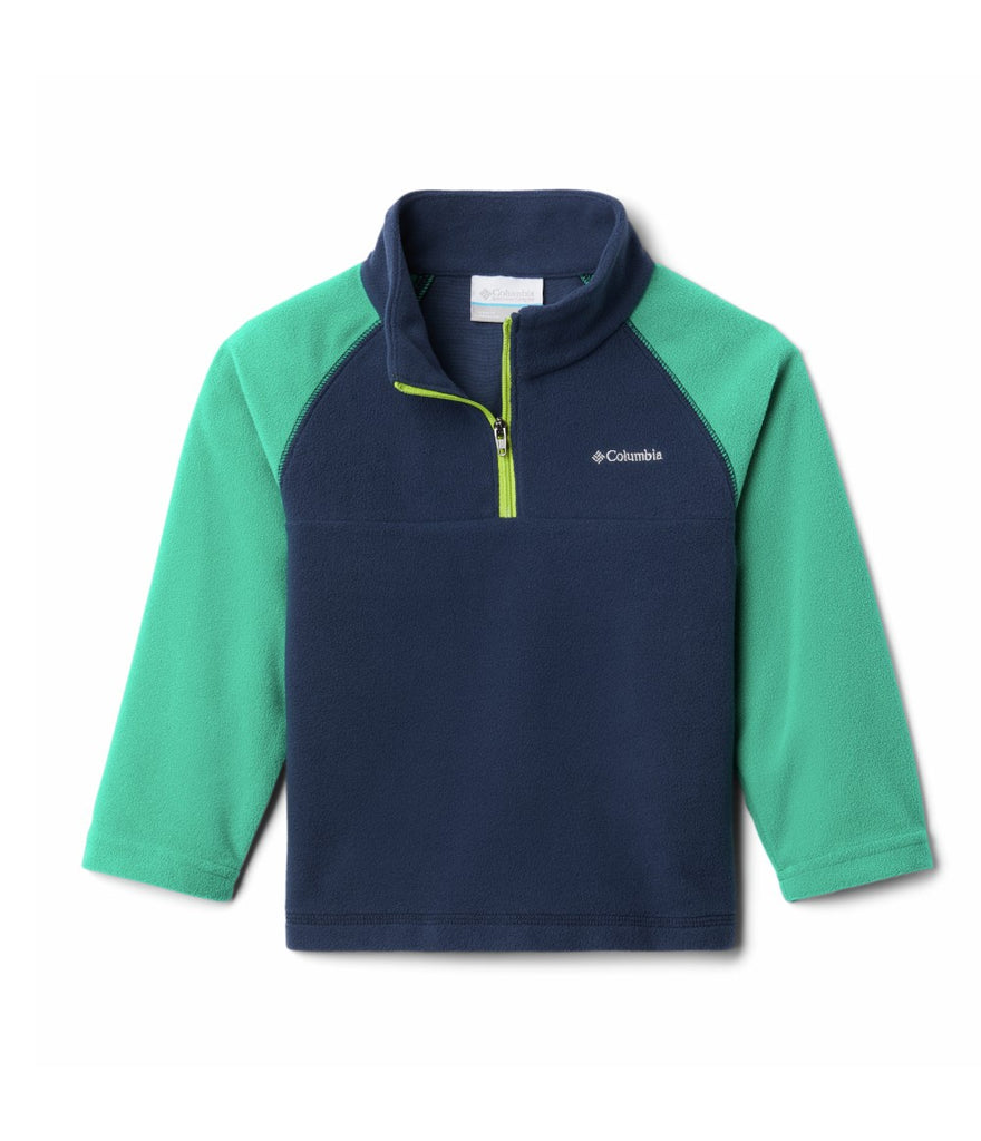BOY'S GLACIAL HALF ZIP NAVY (AGES 4-10)