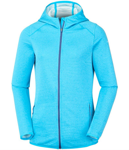 WOMEN'S CABANON CREEK FULL ZIP HOODIE - ATOLL