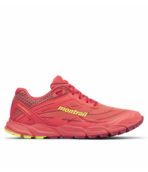 WOMEN'S CALDORADO III TRAIL RUNNING SHOE - FADED PEACH