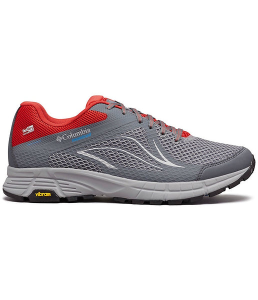 MEN'S MOJAVE TRAIL II OUTDRY TRAIL SHOE - TI GREY STEEL, HYPER BLUE