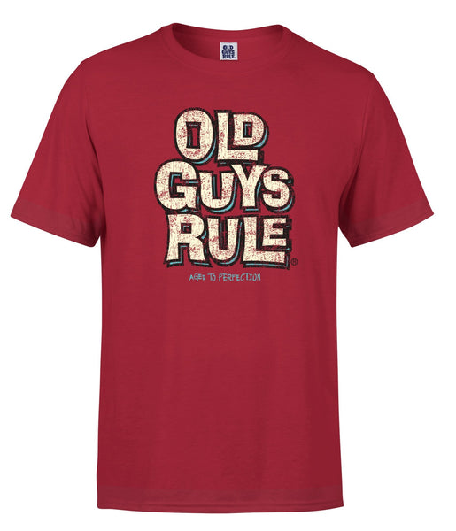 AGED TO PERFECTION T-SHIRT - RED