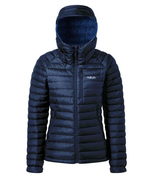 WOMEN'S MICROLIGHT ALPINE JACKET - BLUEPRINT/CELESTIAL