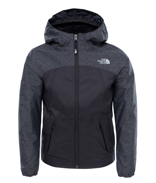 GIRL'S WARM STORM JACKET BLACK (AGES 6-10)