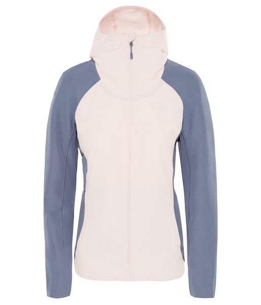WOMEN'S INVENE SOFTSHELL JACKET - PINK SALT