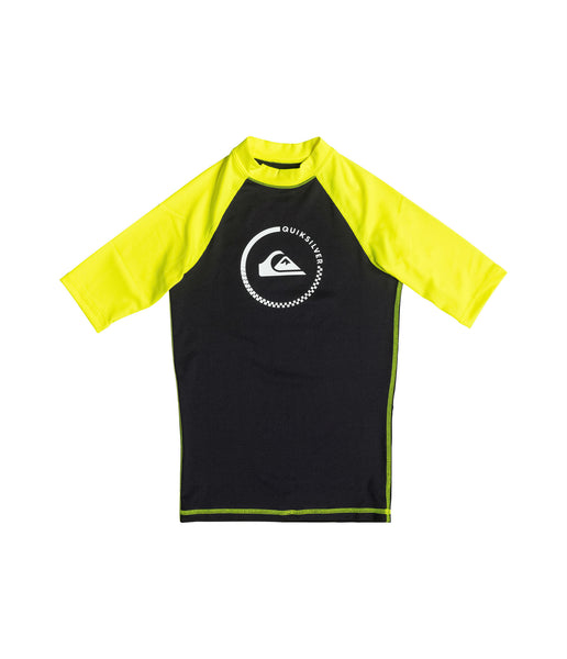 LOCK UP BOY SS RASH VEST (AGE 8-16)