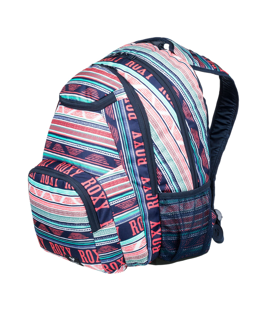 SHADOW SWELL BACKPACK - BRIGHT WHITE AX BOHEME BORDER