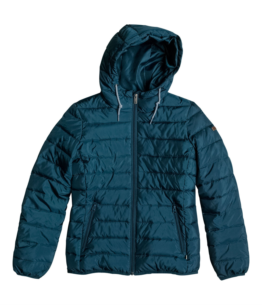FOREVER FREELY PUFFA JACKET - REFLECTING POND