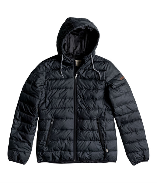 FOREVER FREELY PUFFA JACKET- TRUE BLACK
