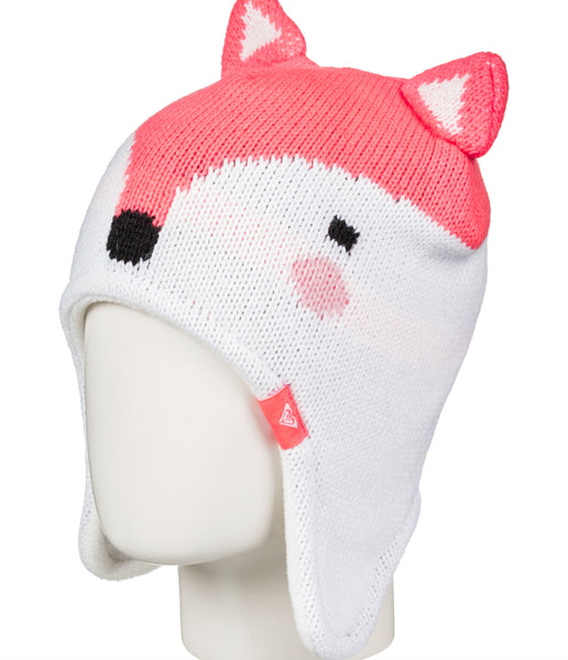 LITTLE GIRLS' FOX TEENIE BEANIE