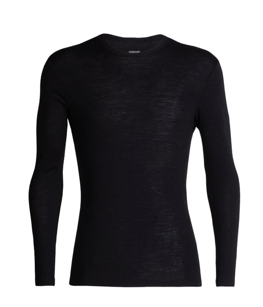 MEN'S 175 EVERYDAY LONG SLEEVE CREW - BLACK
