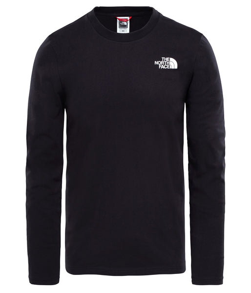 MEN'S L/S EASY TEE - TNF BLACK