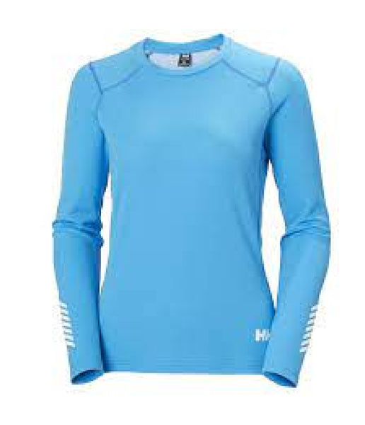 WOMEN'S LIFA ACTIVE CREW - BLUEBIRD - LARGE