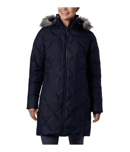 WOMEN'S ICY HEIGHTS II MID LENGTH DOWN JACKET - DARK NOCTURNAL