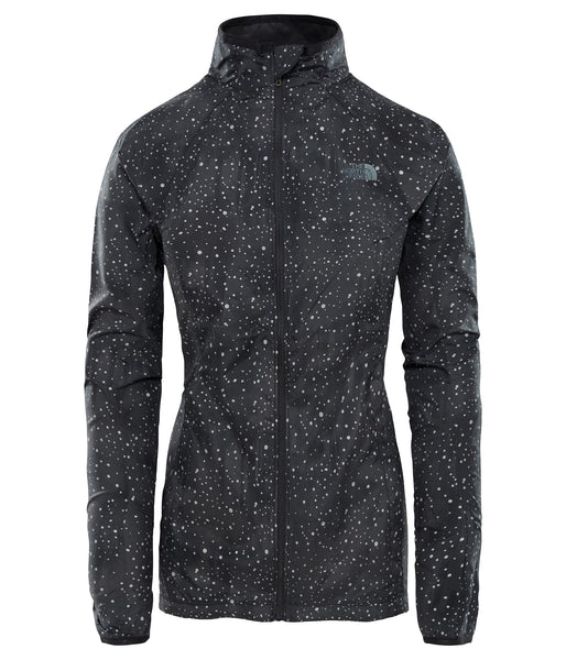 WOMEN'S AMBITION JACKET BLACK - REFLECTIVE FIREFLY PRINT