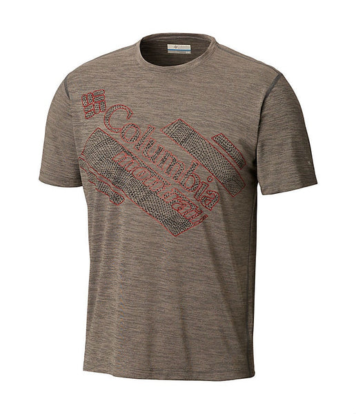 MEN'S TRINITY TRAIL 2.0 GRAPHIC SHORT SLEEVE T-SHIRT - GRAPHITE