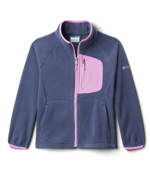 KID'S FAST TREK III FLEECE FULL ZIP (AGES 10-16) - NOCTURNAL BLOSSOM