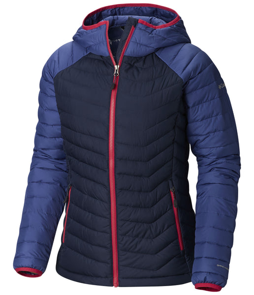 WOMEN'S POWDER LITE HOODED JACKET - NOCTURNAL EVE