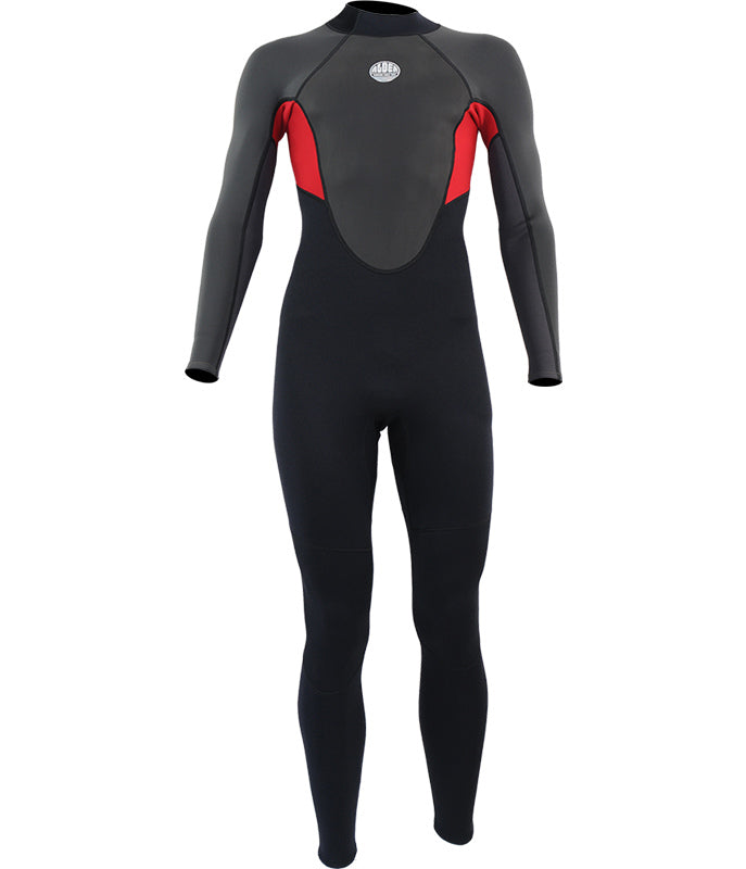 MEN'S IMPACT FULL 3/2MM WETSUIT - RED